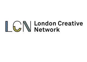 London Creative Network logo. Image courtesy of Space Studios.