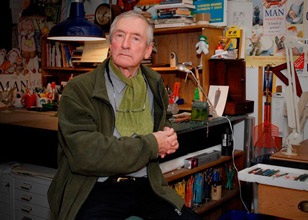 Raymond Briggs, photographed for DACS by Brian Benson © Brian Benson, 2016